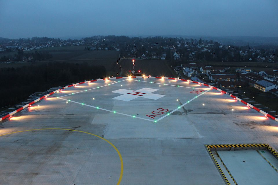 Highest Rooftop Heliport In Operation Dewitec Gmbh