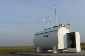 Flugkraftstoff Tankanlage