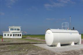 Flugkraftstoff Tankanlage Airfield