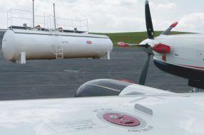 Flugkraftstoff Tankanlage Plane