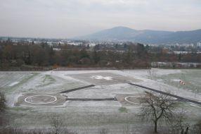 Heliport University Hospital Heidelberg