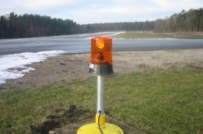 DeWiTec-Bielefeld-Airport Warning Lamp