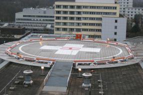 Hubschrauberlandeplatz Universitätsklinikum Essen