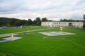 Hubschrauberlandeplatz DRK Kinderklinik Siegen
