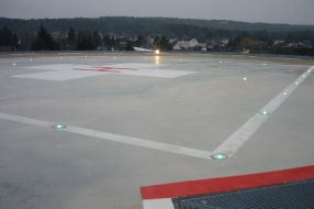 Heliport County Hospital Mechernich