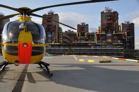 Heliport University Hospital Aachen