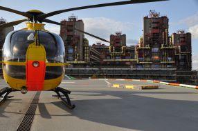 Hubschrauberlandeplatz Uniklinik Aachen