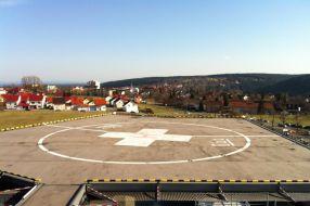 Hubschrauberlandeplatz Krankenhaus Freudenstadt