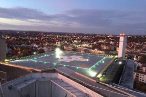 Hubschrauberlandeplatz Kreiskrankenhaus Reutlingen
