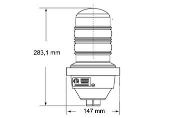 DWT-OBS-LED-S Zeichnung