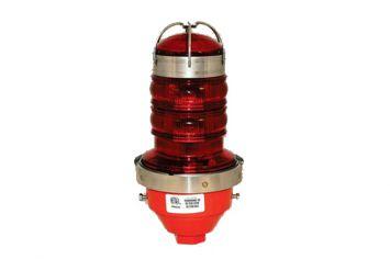 DWT-OBS-LED-S-EX Explosionsgeschütztes Einzelhindernisfeuer