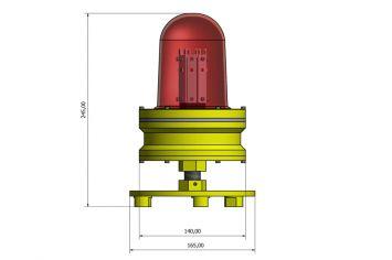 DWT-LODO-LED-MKII Abmessungen