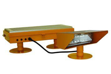 DeWiTec Solar LED Flutlicht